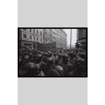 True Rebel Postcard Hafenstrassen Demo 1987 - 1