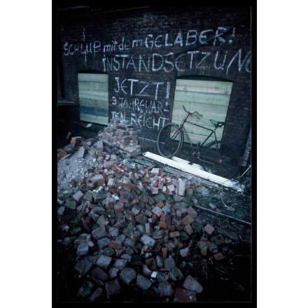 True Rebel Postcard Jaegerpassage 1986