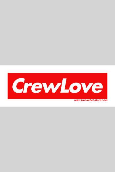 Sticker Crew Love (25Stck, DinA7 long) Red