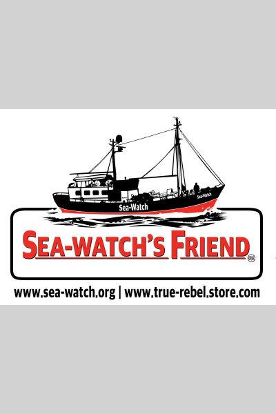 Sticker Sea Watchs Friend (25Stck, A7)