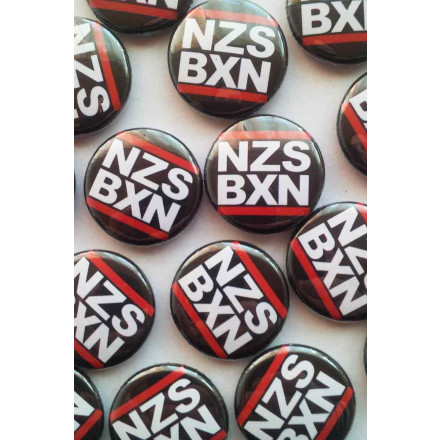 True Rebel Button NZS BXN Black