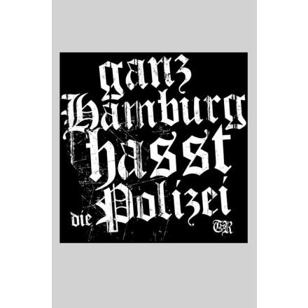 Sticker Ganz Hamburg (10x10cm, 25 Stck)