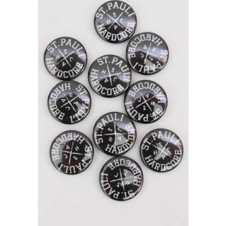 True Rebel Button SPHC Black