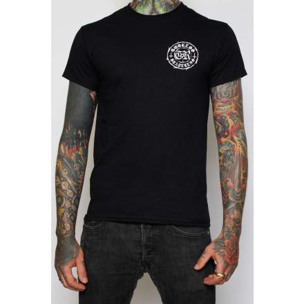 True Rebel Shirt Godless Black
